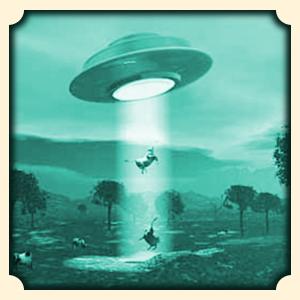 UFO, kosmici sennik