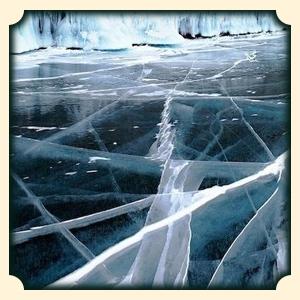 Lód we śnie