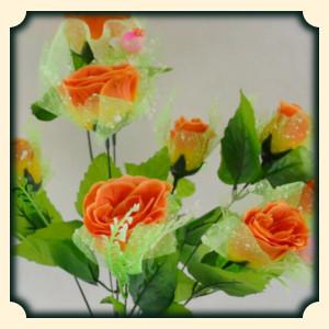 Sennik sztuczne kwiaty